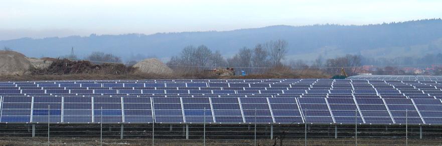 Mehr PV in Bayern