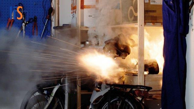 Brände durch Lithium-Akkus nehmen zu!