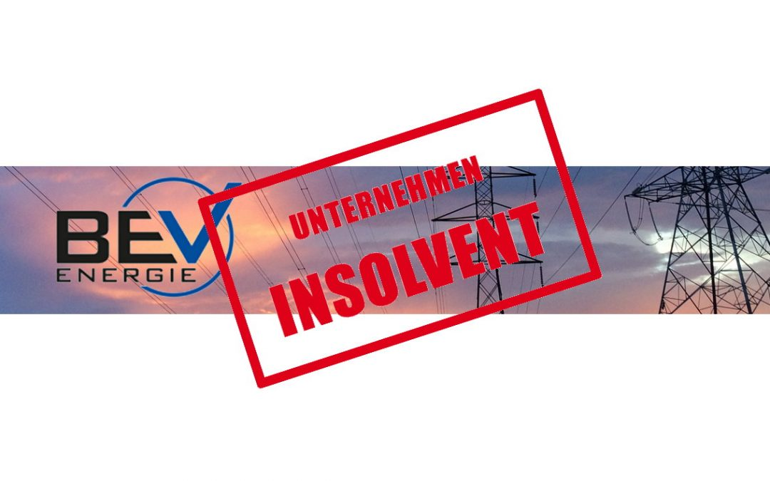 Bayerische Energieversorgungsgesellschaft mbH: Erst Aufsichtsverfahren –  dann Pleite