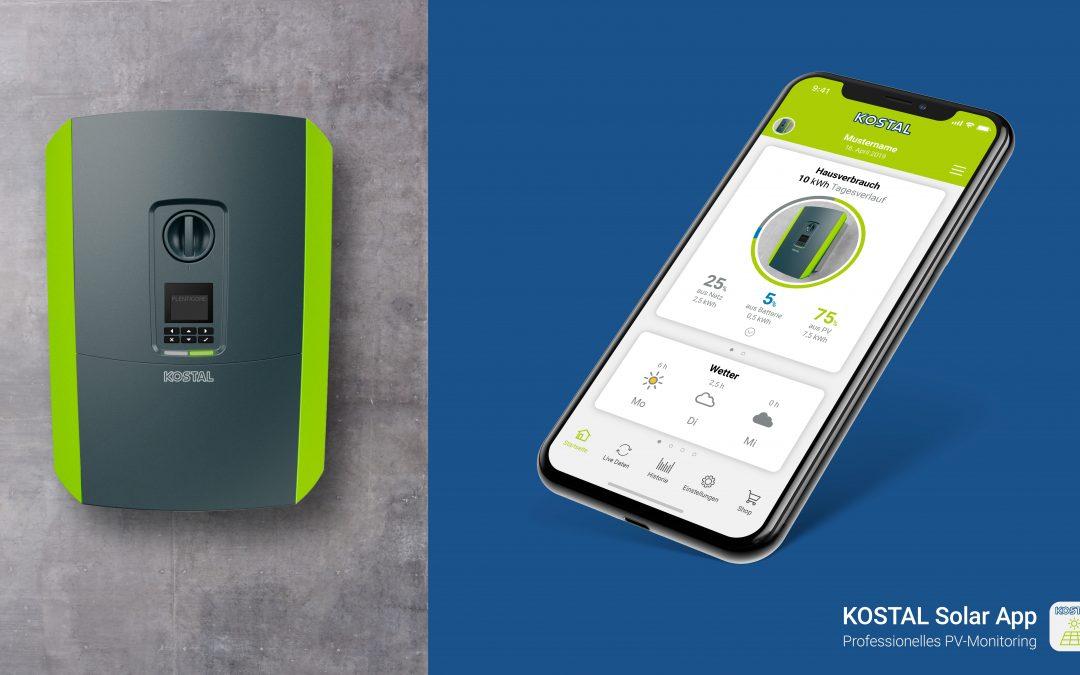 Anlagenmonitoring  & Simulation mit der neuen KOSTAL Solar App