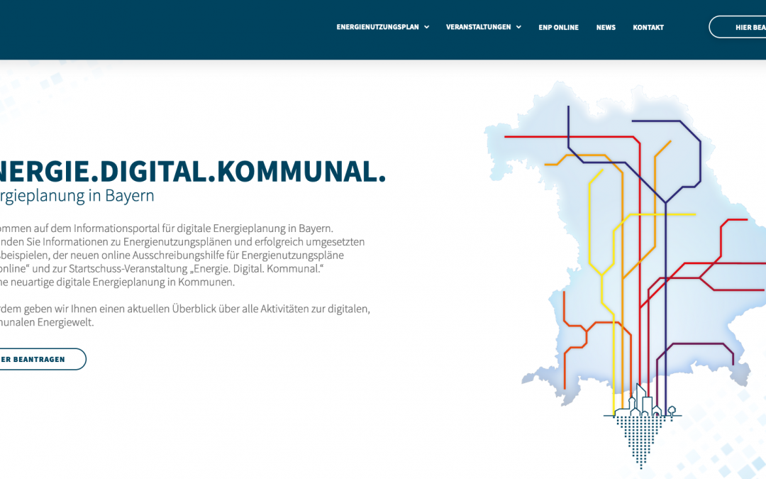 ENPonline soll bayerische Kommunen bei der Energiewende unterstützen