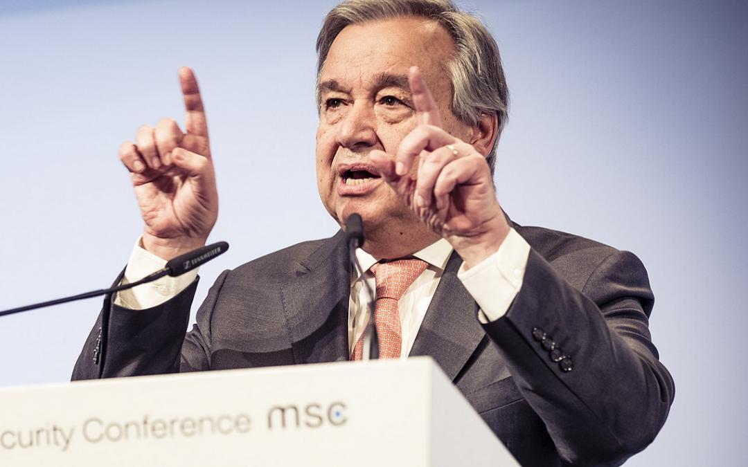 """Un-Generalsekretär Gueterres: """"Klimawandel ist schneller als wir"""""""