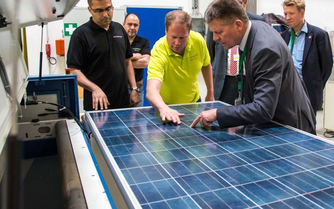 Fünf Millionen Photovoltaik Module im Test