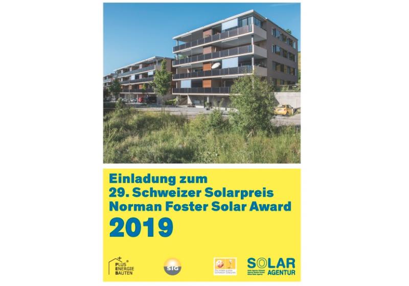Schweizer Solarpreisverleihung in Genf