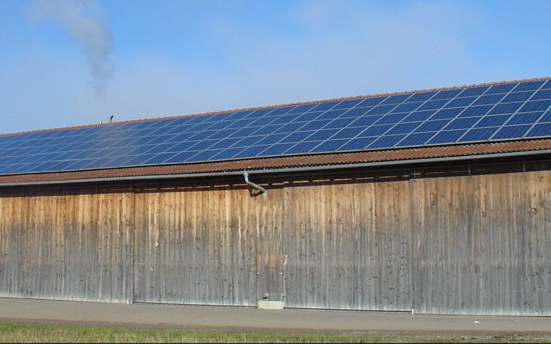 """Webinar """"Photovoltaik in der Landwirtschaft""""  16.12.2019"""