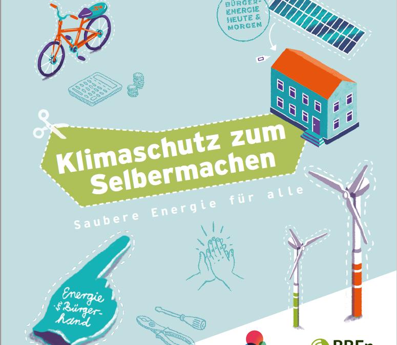Klimaschutz zum Selbermachen – neue Broschüre