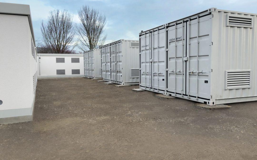 Gotha – 10 MW Stromspeicher für Netzdienste in Betrieb genommen