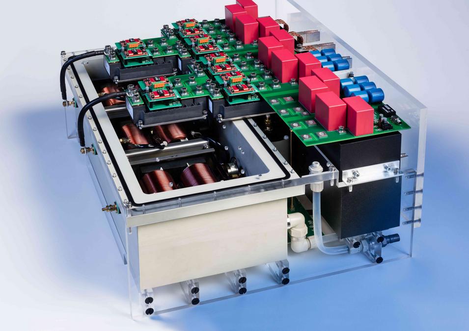 PV-Wechselrichter für direkte Einspeisung in das Mittelspannungsnetz
